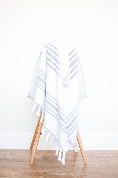 towel - dark grey