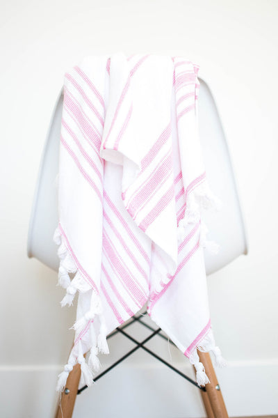 mini towel - pink