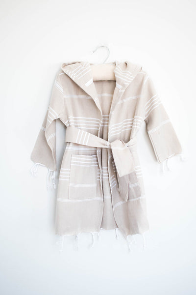 mini robe - grey