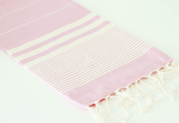 solid hand towel - pink