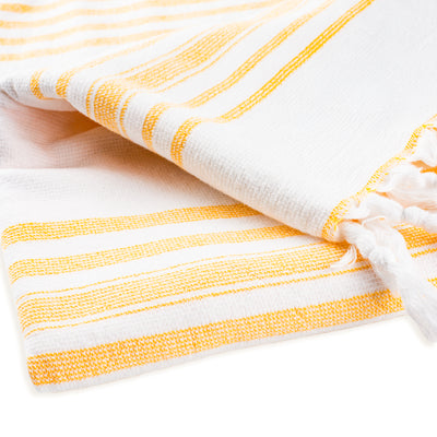 terry towel - yellow