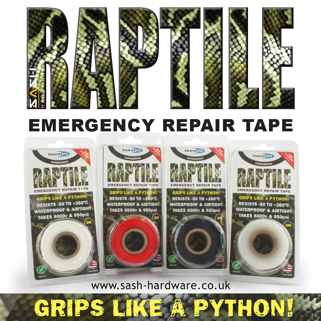 RAPTILE emergency repair tape - WIN A SAFARI TRIP TO SRI LANKA