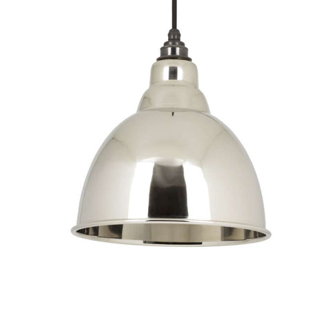 From the Anvil THE BRINDLEY PENDANT IN SMOOTH NICKEL sold at Sash Hardware