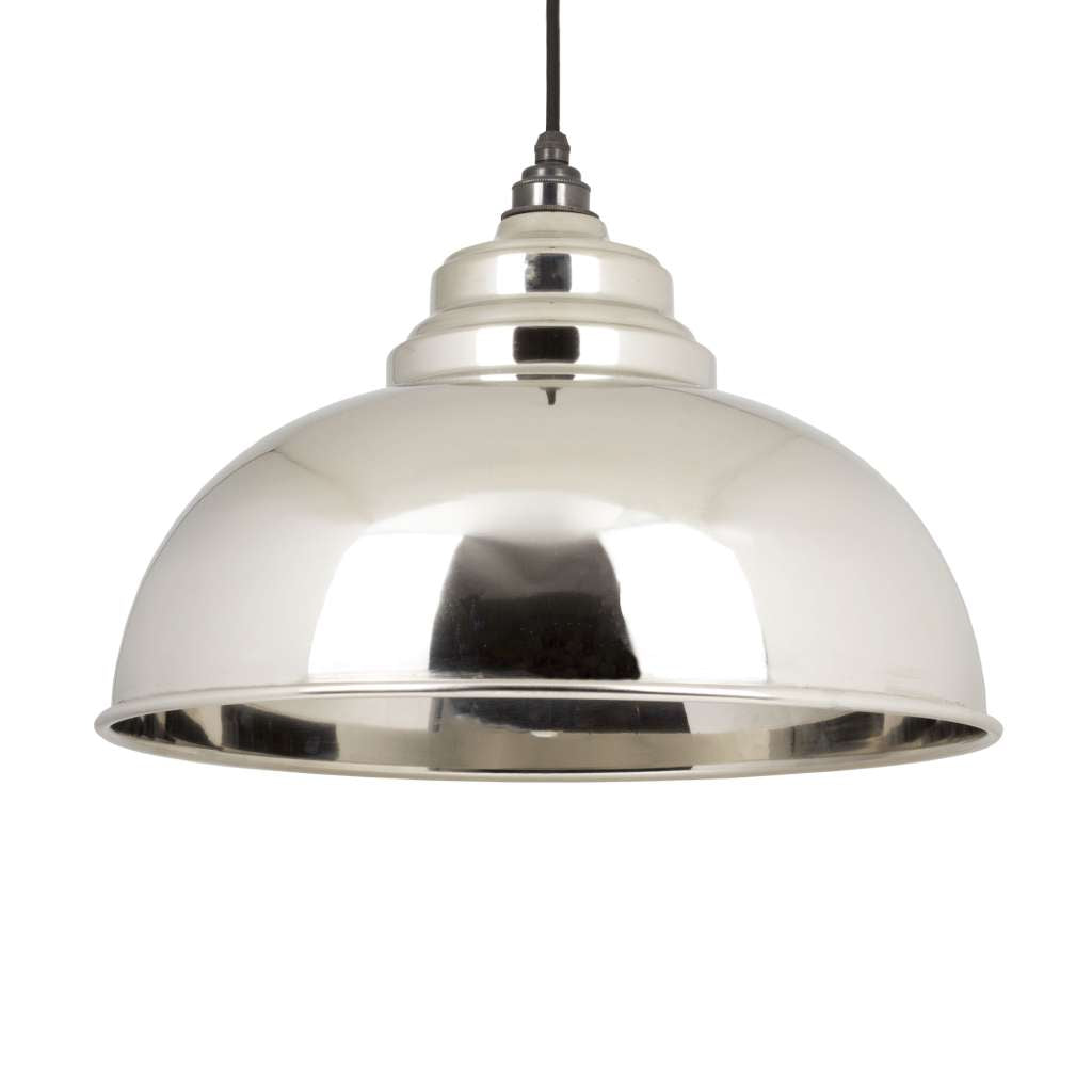 From the Anvil THE HARBORNE PENDANT IN SMOOTH NICKEL sold at Sash Hardware
