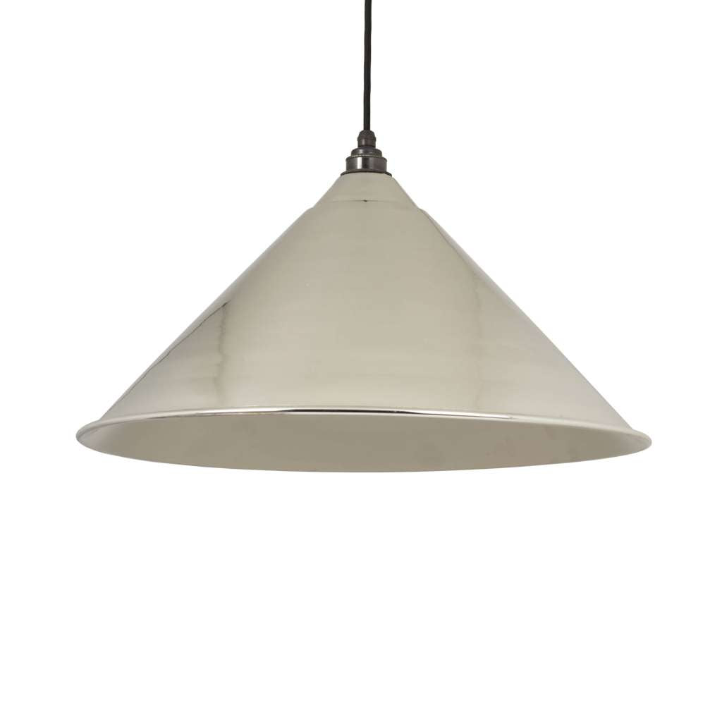 From the Anvil THE HOCKLEY PENDANT IN SMOOTH NICKEL sold at Sash Hardware