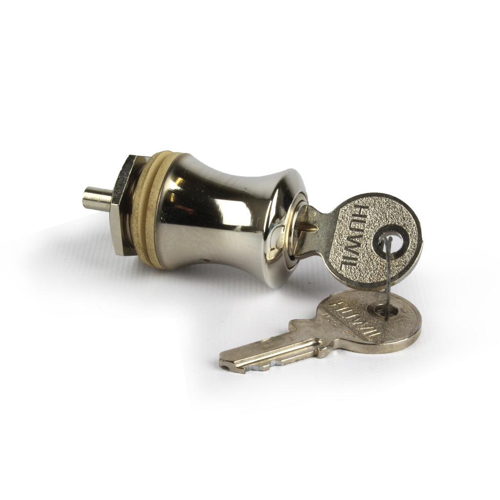 Sash Hardware HUWIL GLASS DOOR CYLINDER LOCK KNOB sold at Sash Hardware