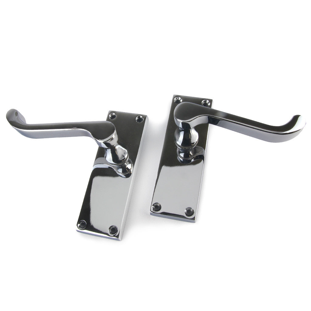 Frelan Victorian Scroll Lever Handle - Various Finishes & Functions sold at Sash Hardware