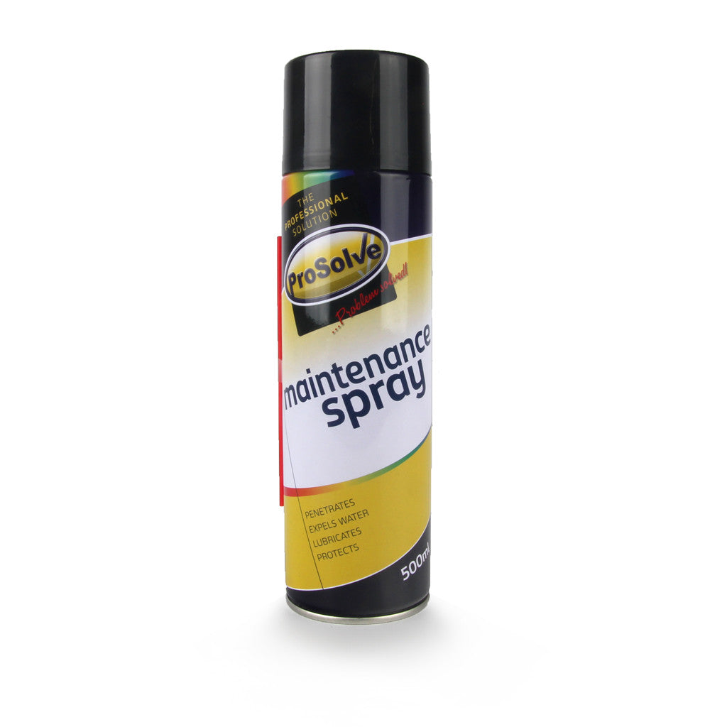 Prosolve MAINTENANCE SPRAY sold at Sash Hardware