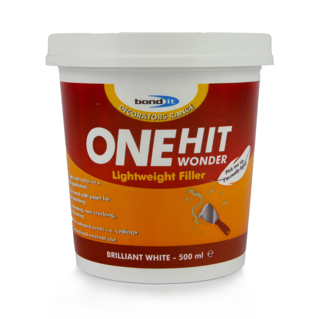 Bond-It ONE HIT WONDER WHITE FILLER sold at Sash Hardware