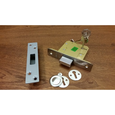 "Asec Security 3.0"" (76mm) 5 LEVER BS DEADLOCK sold at Sash Hardware"