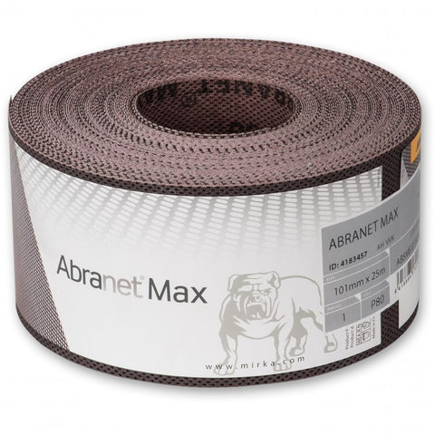 Abranet Max for Drum Sanders - 100mm x 10m - Best Abrasives - Mirka