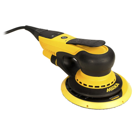 Mirka DEROS 150mm Random Orbital Sander - 2.5mm Orbit 625CV + Free Box of Abranet - Best Abrasives - Mirka