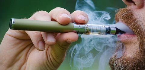 Manual Batteries in eCigarettes