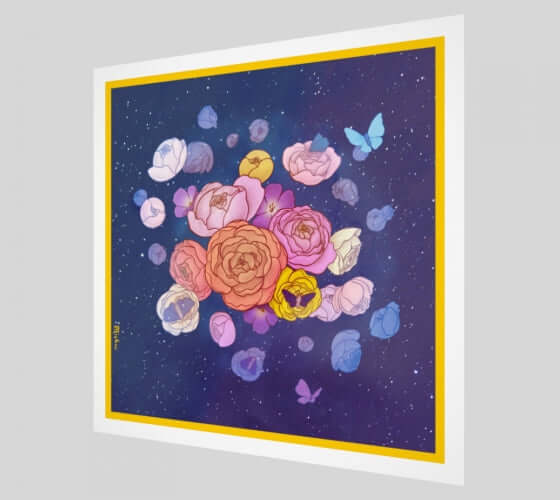 Cosmic Garden Limited Edition Signed Art Print