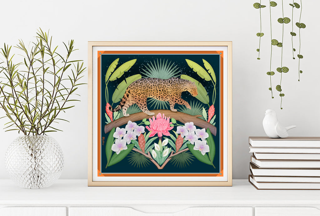 Night in the Jungle Limited Edition Signed Art Print