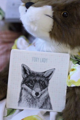 Animal Coaster Foxy Lady