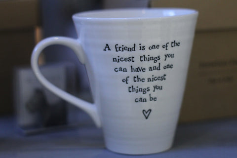 A Friend Is One Of The Nicest Boxed Porcelain Mug