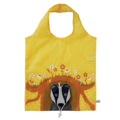 Badger Foldable Eco Reusable Shopping Bag