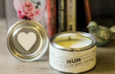 Candle Mum Love You To The Moon - Dotties Gifts