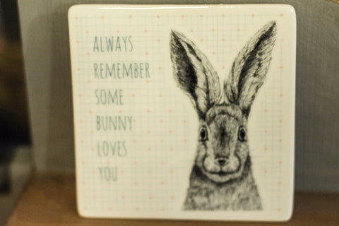 Animal Coaster Some Bunny - Dotties Gifts