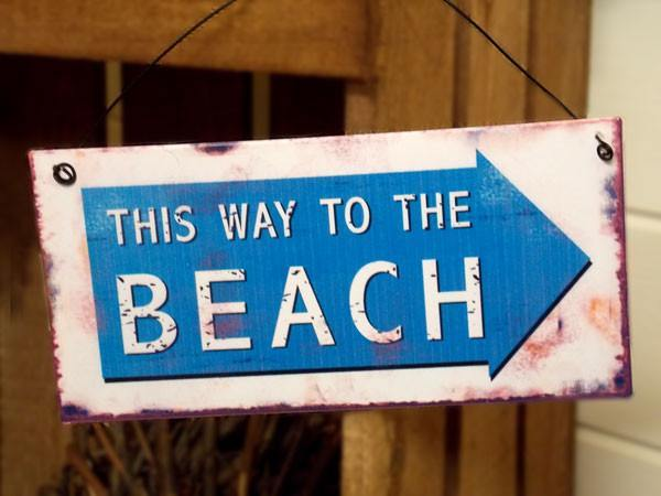 This Way To Beach - Dotties Gifts