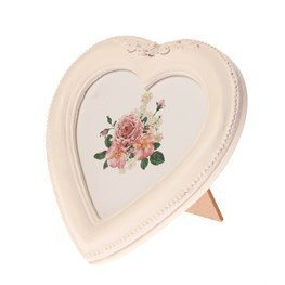 Antique Roses Heart Frame - Dotties Gifts