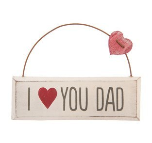 I Love You Dad Plaque - Dotties Gifts
