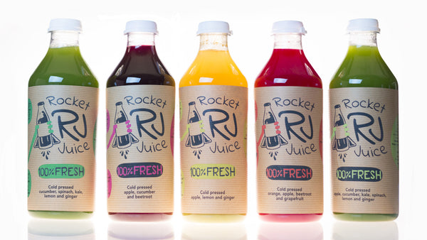 3 x 1000ml mixed flavours - Rocket Juice