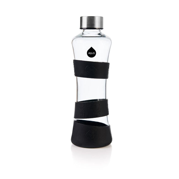 Black Edition - 550ml / 19oz black glass squeeze - EQUA