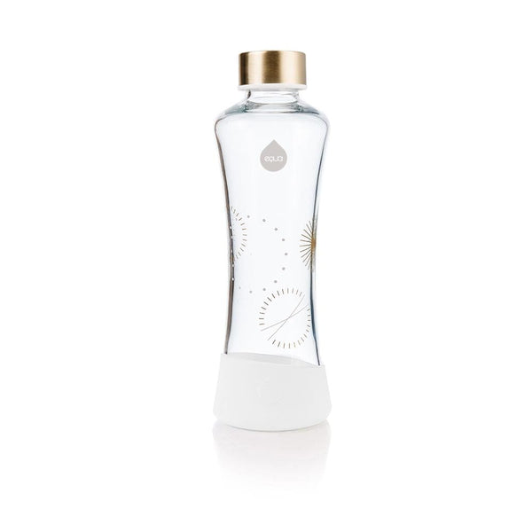 Eternity - 550ml / 19oz glass gold squeeze white - EQUA