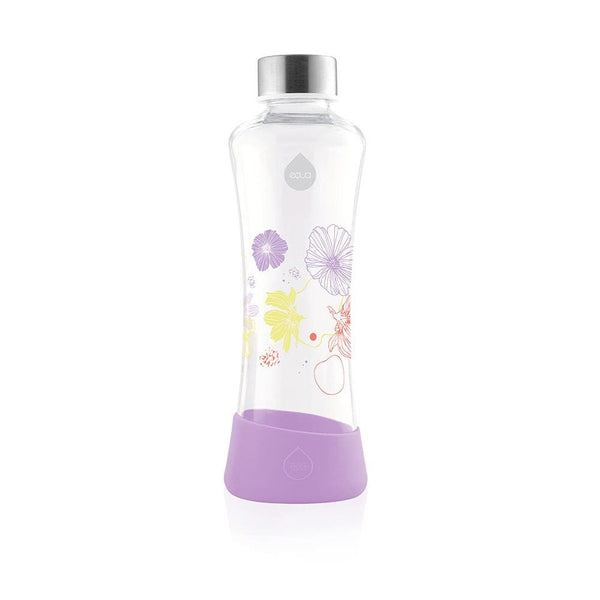 Lily - 550ml / 19oz glass squeeze violet - EQUA