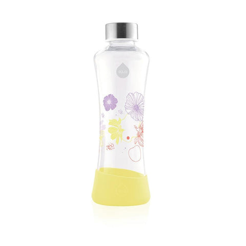 Daisy - 550ml / 19oz glass squeeze yellow - EQUA
