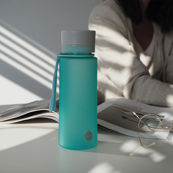 Plain Ocean - 600ml / 20oz bpa free plastic mint plain - EQUA