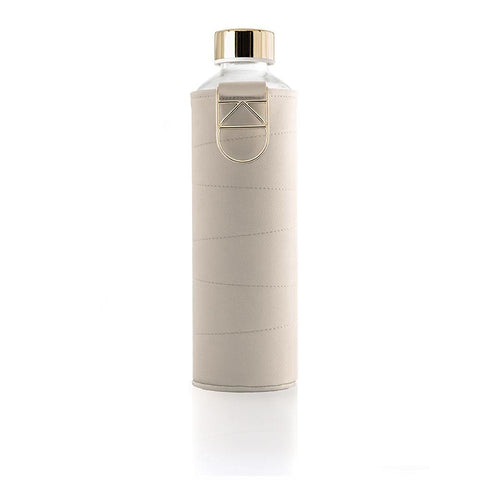 Mismatch Beige - 750ml / 25oz beige glass gold mismatch - EQUA