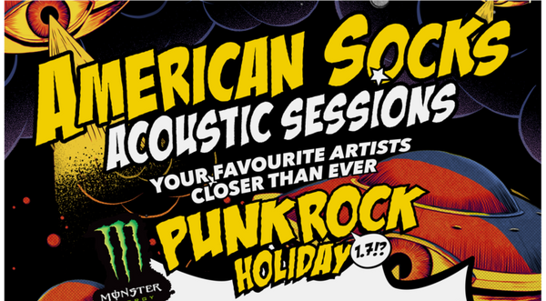 Punk Rock Holiday Acoustic Stage & WTF Parties!