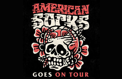 American Socks Goes On Tour 2018. Join Us!