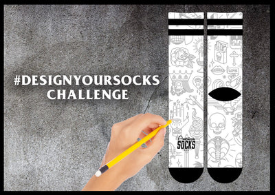 Join the #DesignYourSocks Challenge