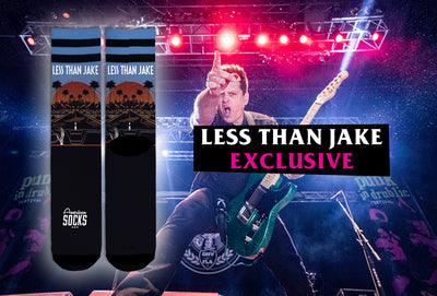 Exclusive Less Than Jake Socks