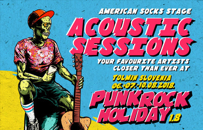 Punk Rock Holiday Acoustic Stage 2018