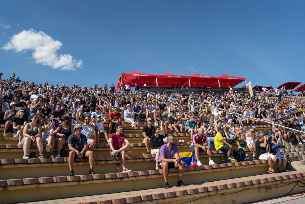 audience at extreme barcelona 2021