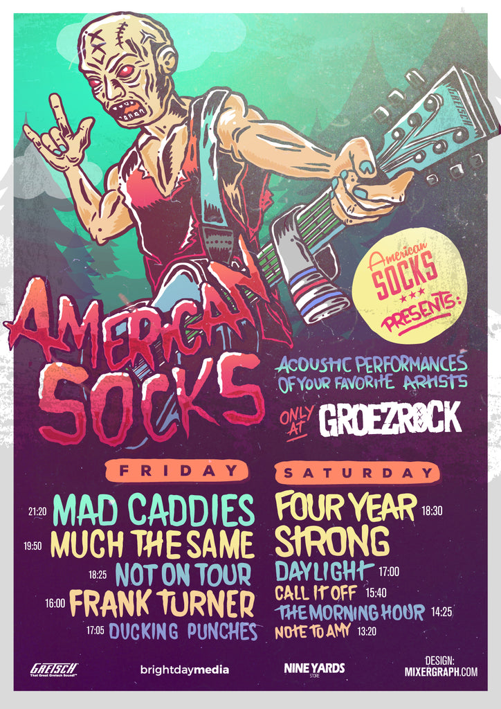 american socks groezrock acoustic four year strong mad caddies 2016 frank turner