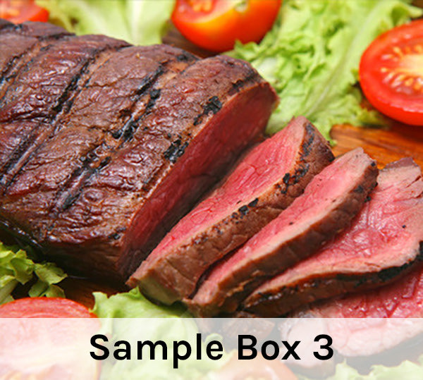 Beef Sample Box #3