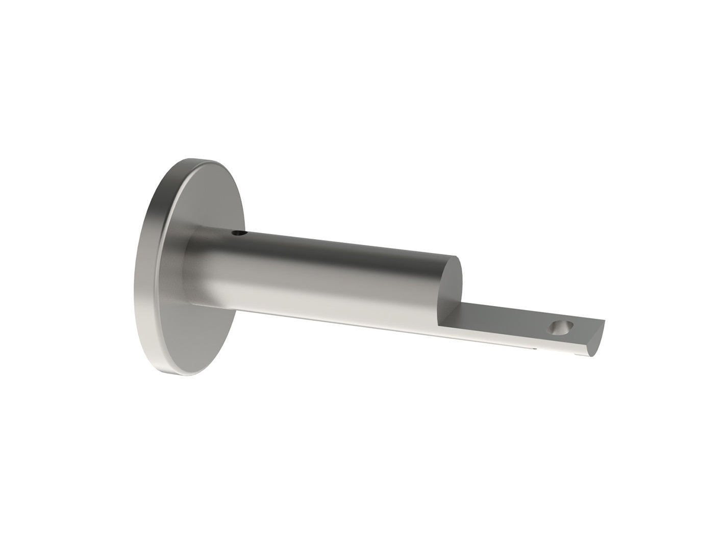 stainless steel passing bracket for 19mm curtain poles