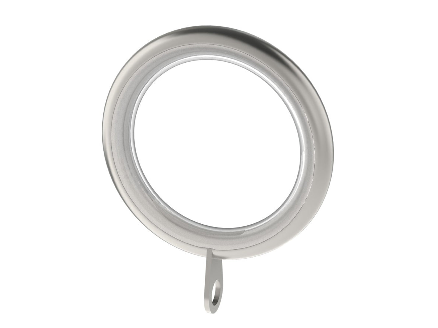stainless steel curtain rings for 19mm curtain pole by Walcot House