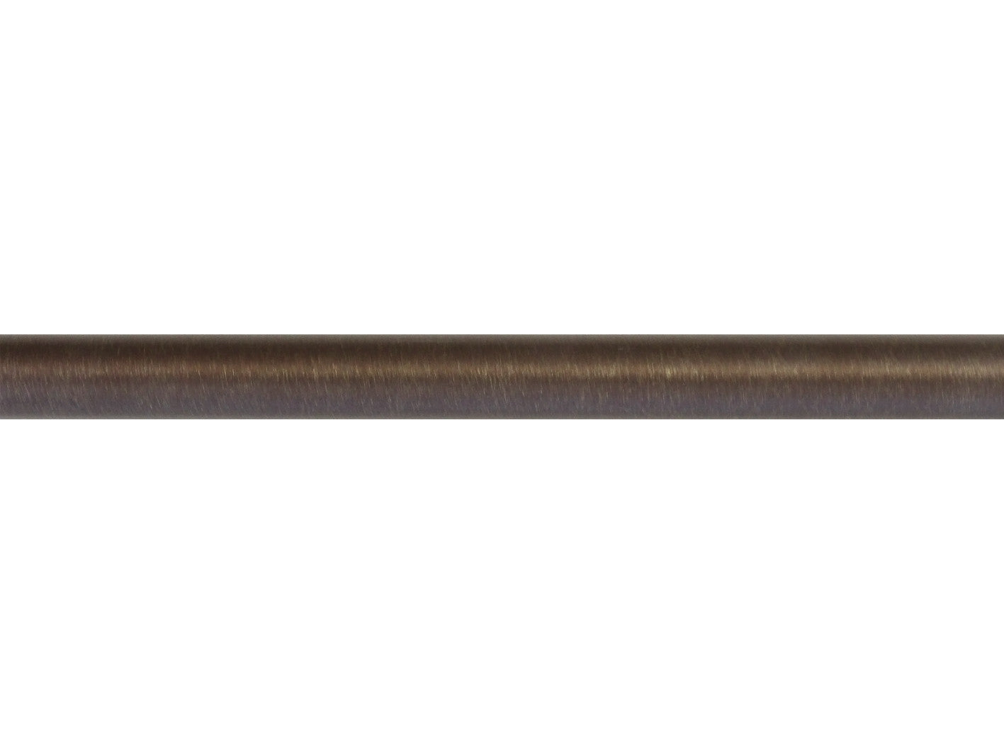 30mm brushed bronze curtain pole