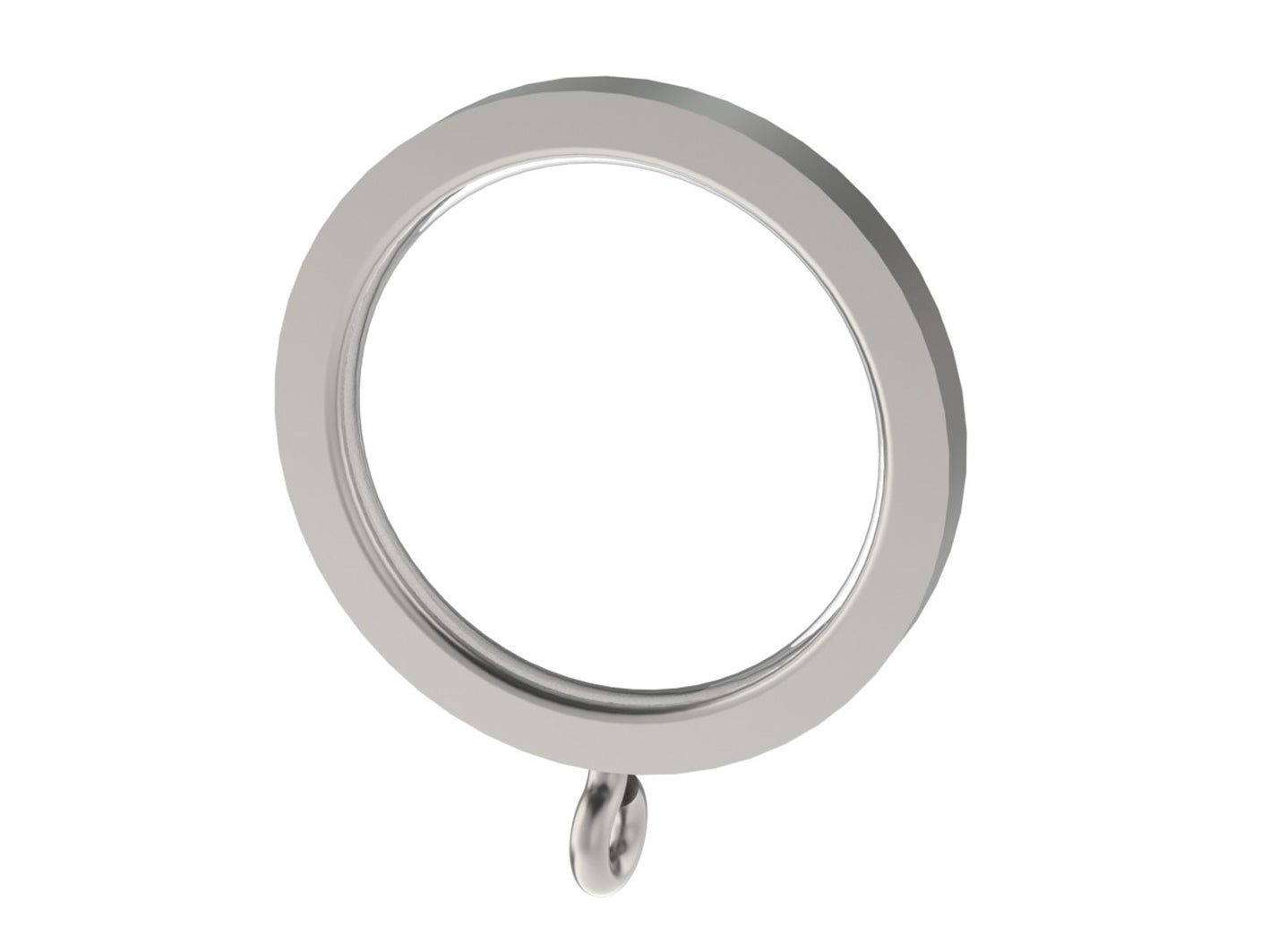 stainless steel curtain rings for 30mm curtain pole by Walcot House