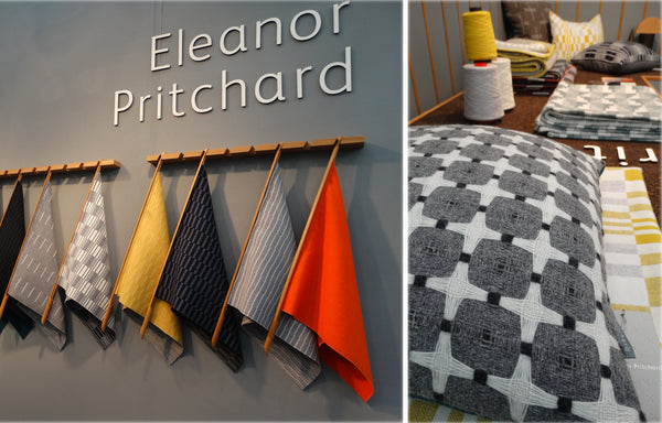 Woven textiles by Eleanor Pritchard
