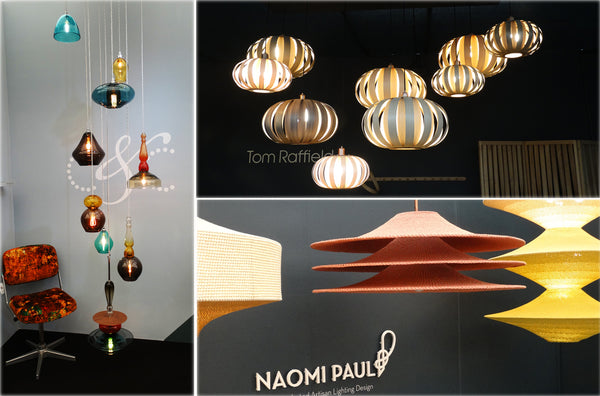 Lighting displays at Decorex 2016