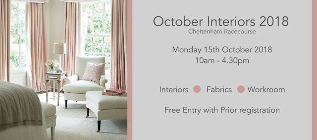CABMFF October Interiors 2018 Cheltenham Racecourse - Walcot House exhibiting