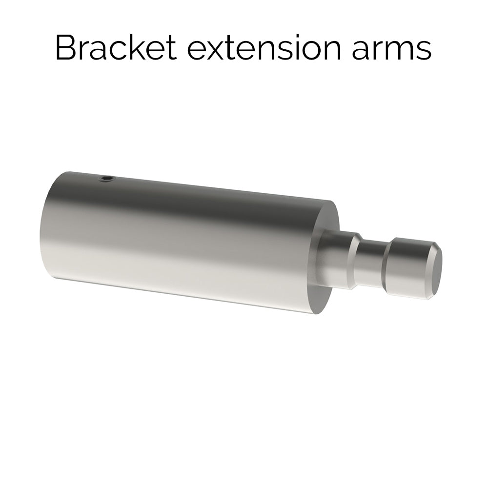 30mm stainless steel bracket extension arms